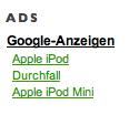 iPod Durchfall iPod