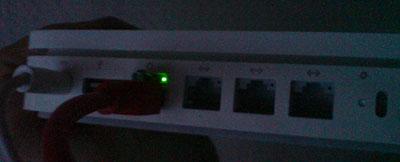 AEX Ethernet-Aktivitätsanzeige