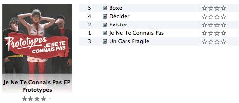 iTunes Albenbewertungen