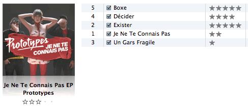 iTunes Albenbewertungen 2