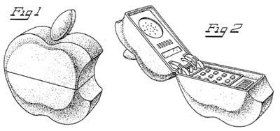 Sprichwörtliches Apple-Phone