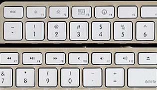 Apple Tastatur Details