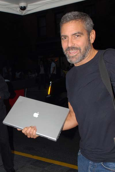 George Clooney MacBook Pro
