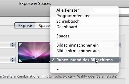 Expose Bildschirmschlaf