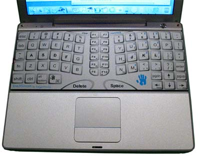 Fingerworks Powerbook