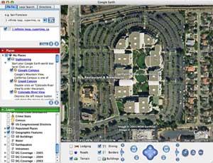 Google Earth auf OS X