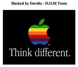 Apple Korea hacked