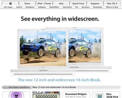 iBook Widescreen