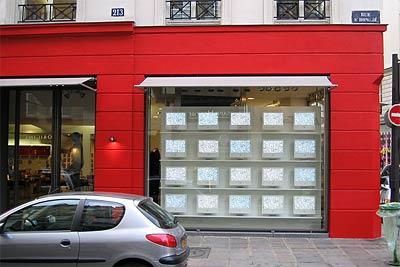 Pariser iMac Schaufensterdeko