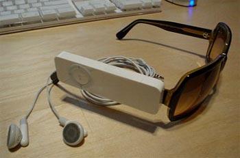 iPod shuffle sunglasses