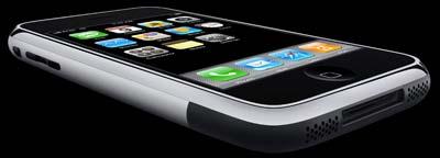 iPhone flachgelegt