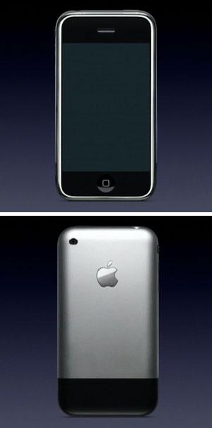 iPhone Vorder- und Rückseite