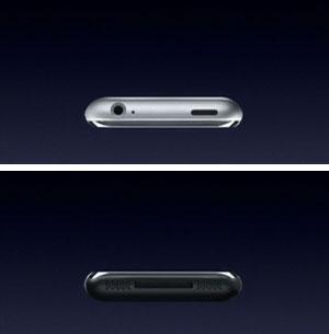iPhone Ober- und Unterseite