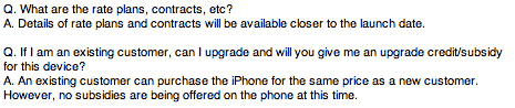 iPhone Q&A