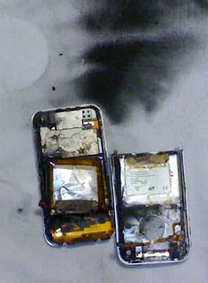 iPhone Rauchzeichen
