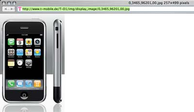 iPhone T-Mobile Bilddatenbank Teil 2