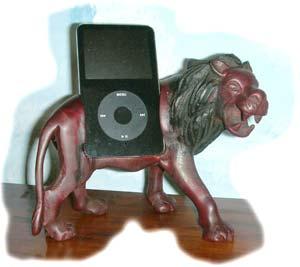 iPod-Löwe