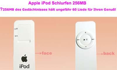 iPod Schlurfen