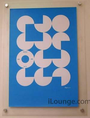 iPod nano-Poster
