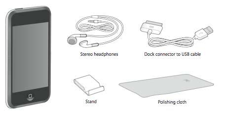 iPod touch Packungsinhalt