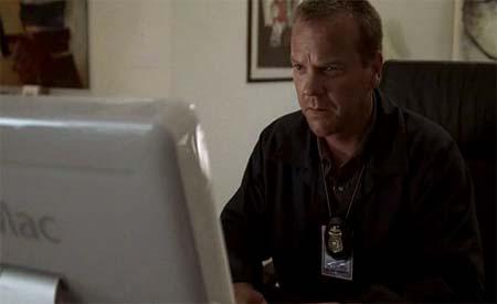 Jack Bauer verhört einen iMac