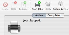 Jobs starten und stoppen