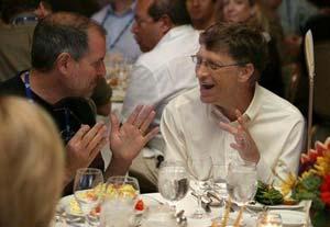 Jobs und Gates auf der D