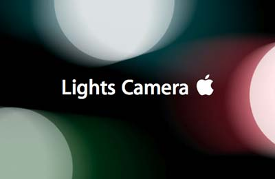 Lights Camera Apple