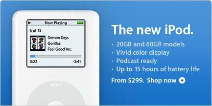 iPod minus photo