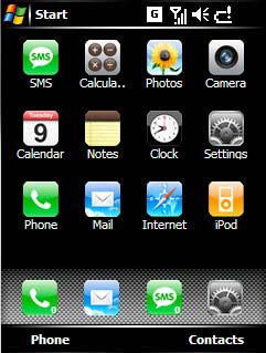 Windows Mobile iPhone