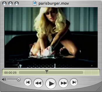 Paris Hilton Spot