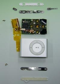 iPod shuffle Innereien