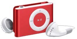 iPod shuffle Red