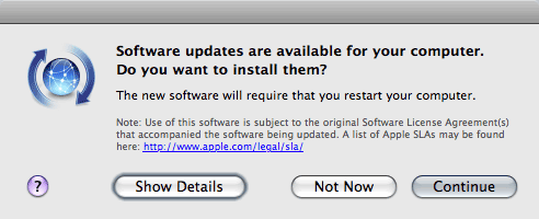 Softwareupdate