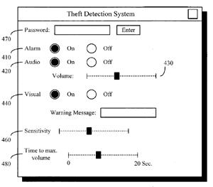 Theft Prevention GUI