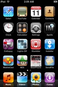 iPod touch Hack