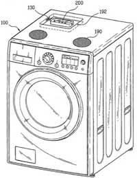 Waschmaschine mit Dock