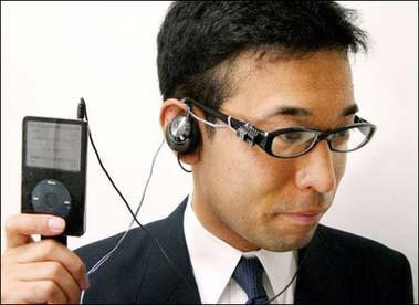 Zahnsteuerung für den iPod